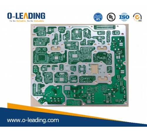 Base Material IT18oA+Rogers 4350B mix pressing, used for Microwave Line Card,high frequency PCB, Immersion Ag