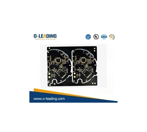 Black soldermask Printed circuit board,Immersion Gold