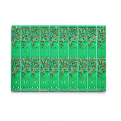 Green Solder Mask ENIG PCB Board FR4 Rigid Double layer PCB