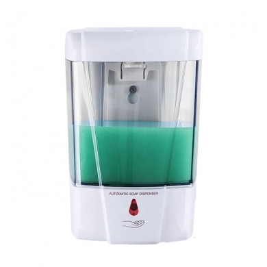 High quality electric hand sanitizer dispenser large capacity automatic plastic liquid soap dispenser