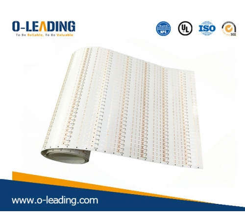 Super long Flexi board, 2L Flexi PCB, Polyimide, OEM manufacturer in China,high TG material, 0.3 mm board thickness, Immersion Gold Printed circuit board ,1.5m super long PCB