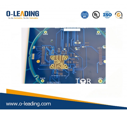 multilayer pcb with step hole and hard gold plating and thick copper