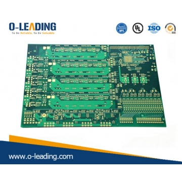 Chine Carte de circuit imprimé HDI multicouches 12 couches, structure 3 + N + 3 usine